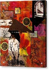 Charlie Acrylic Print by Patricia Motley