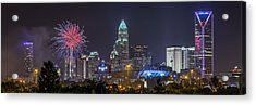 Charlotte Celebration Acrylic Print by Brian Young