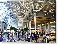 Charlotte Douglas International Airport Terminal Acrylic Print