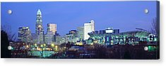 Charlotte Nc Acrylic Print by Panoramic Images
