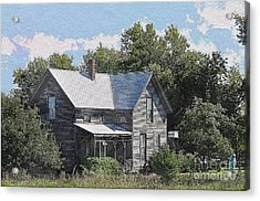 Charming Country Home Acrylic Print