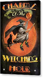 Charms Of The Witching Hour Acrylic Print by Joel Payne