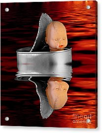 Charon - The Ferryman To The Underworld Acrylic Print by Michal Boubin