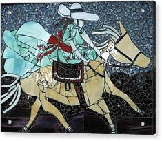 Charra Acrylic Print by Ann Salas