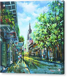 Chartres Afternoon Acrylic Print