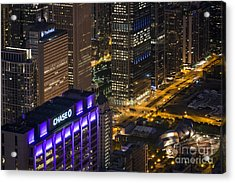 Chase Acrylic Print by Andrea Silies