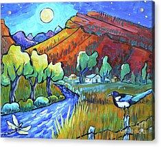 Chasing A Moonbeam Acrylic Print