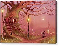 Chasing Fairies Acrylic Print