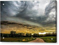 Chasing Nebraska Stormscapes 074 Acrylic Print