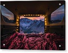 Chasing Sunset Acrylic Print