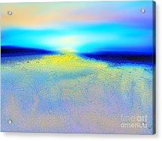 Chasing The Sun  Acrylic Print by Yul Olaivar