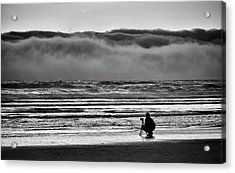 Chasing Tide And Light Acrylic Print