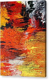 Chasm Acrylic Print by Ralph White