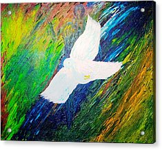 Acrylic Print featuring the painting Chaste by Piety Dsilva