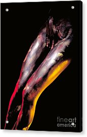 Chaste Acrylic Print by Sandro Rossi