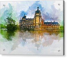 Chateau De Chantilly Acrylic Print