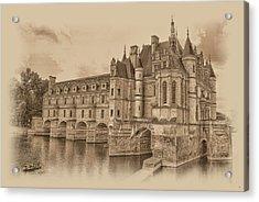Chateau De Chenonceau Acrylic Print
