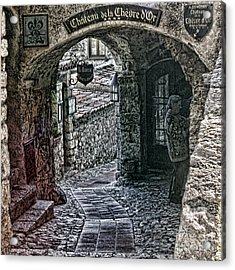 Chateau De La Chevre D'or Acrylic Print by Tom Prendergast