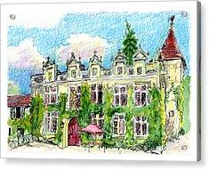 Chateau De Maumont Acrylic Print