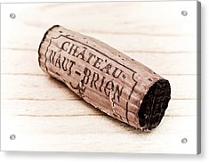 Chateau Haut-brion Acrylic Print by Frank Tschakert