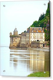 Chateau On Mont St-michel Acrylic Print