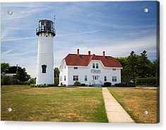 Chatham Lighthouse Acrylic Print by Emmanuel Panagiotakis