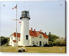 Acrylic Print featuring the photograph Chatham Lighthouse by Frederic Kohli