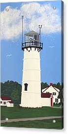 Chatham Lighthouse Tower Acrylic Print by Frederic Kohli