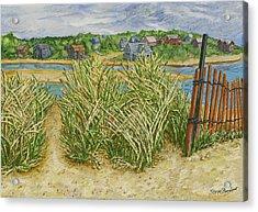Chatham Port Acrylic Print