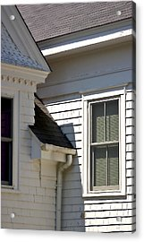 Acrylic Print featuring the photograph Chatham Window by Larry Darnell