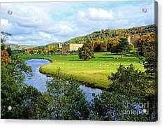 Chatsworth House View Acrylic Print