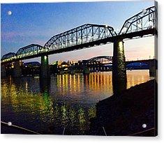 Chattanooga Nites Acrylic Print