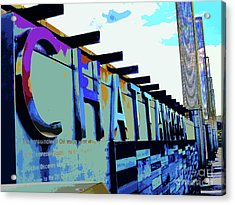 Chattanooga Tennessee Sign Acrylic Print