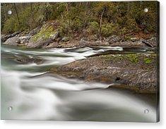Chattooga River 23 Acrylic Print by Derek Thornton