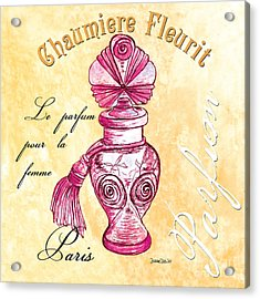 Chaumiere Fleurit Acrylic Print