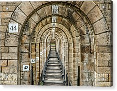 Chaumont Viaduct France Acrylic Print