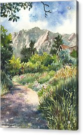 Chautauqua Morning Acrylic Print by Anne Gifford