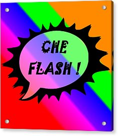 Che Flash Acrylic Print