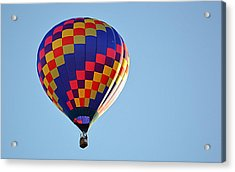 Acrylic Print featuring the photograph Checkerboard by AJ Schibig