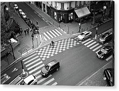 Checkmate, Paris Acrylic Print