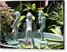 Cheekwood Fountain Acrylic Print
