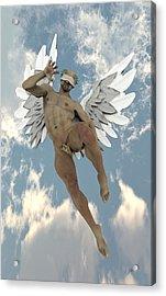 Cheerful Angel Acrylic Print