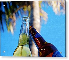 Beer Cheers   Acrylic Print by JAMART Photography