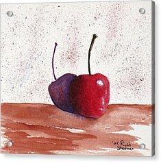Cheery Cherry Acrylic Print by Rich Stedman