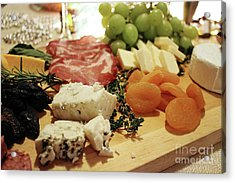 Cheese And Meat Acrylic Print
