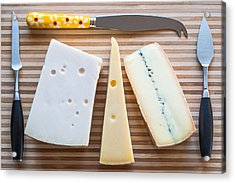 Acrylic Print featuring the photograph Cheese Board by Ari Salmela