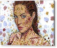 Cheeseburger Jolie Acrylic Print