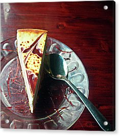 Cheesecake Acrylic Print by Michael McKenzie