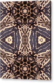 Cheetah Print Acrylic Print