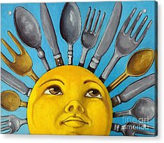 Chefs Delight - Cbs Sunday Morning Sun Art  Acrylic Print